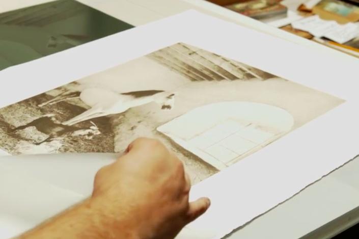 Polymer Photogravure Print